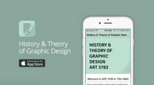 History and Theory of Graphic Design app