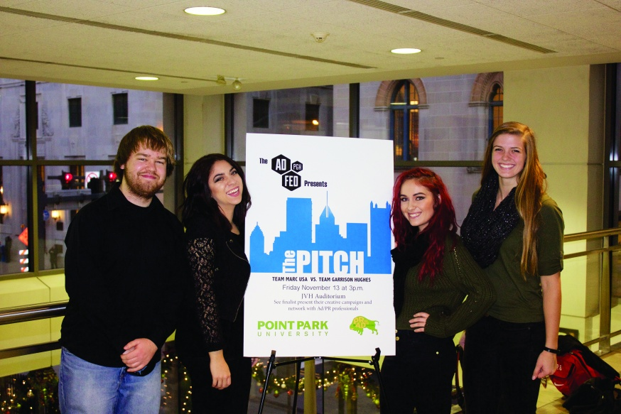 YSU Students Pitch Winning Ad Campaign