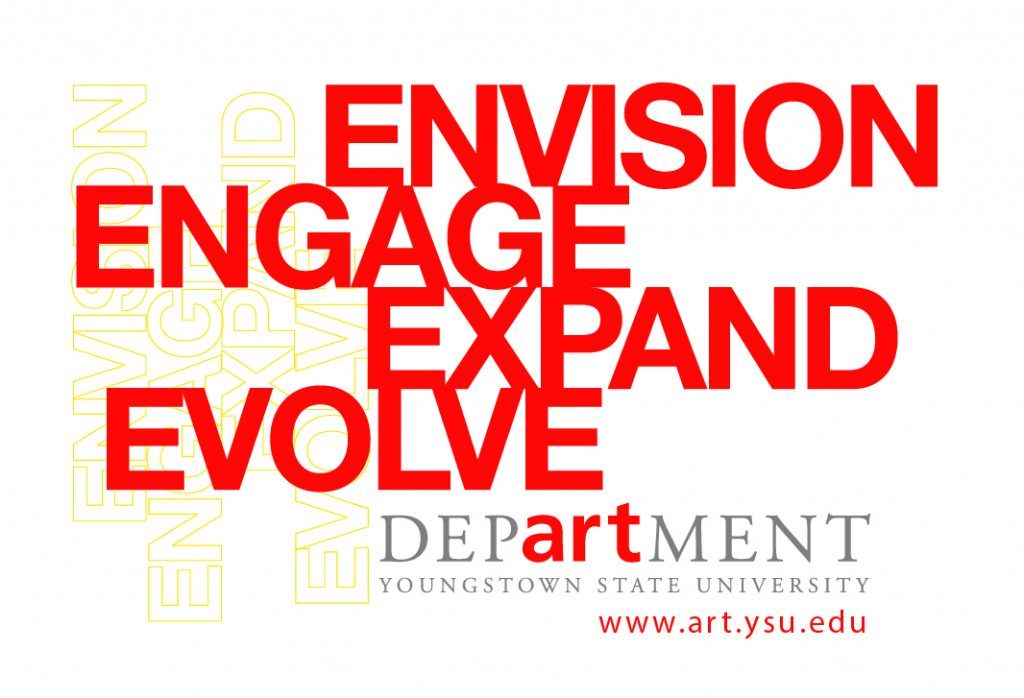 Promotional Graphic for YSU Arts