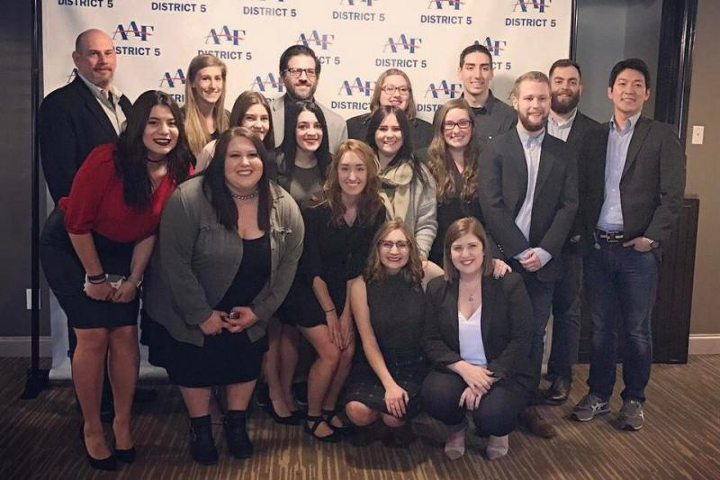YSU Ads Club takes honors in regional contest
