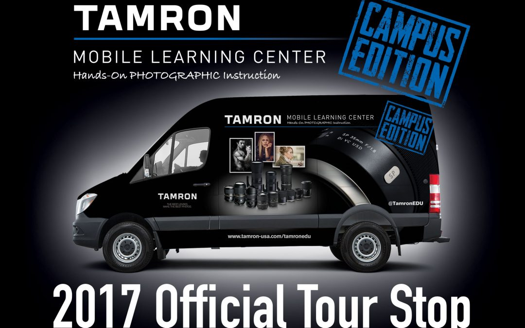 Tamron Mobile Learning Center – Hands-on PHOTOGRAPHIC Instruction