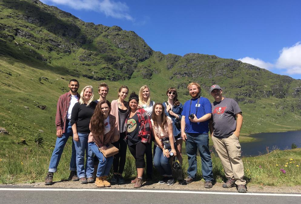 YSU Scotland Summer Study Abroad Exhibition